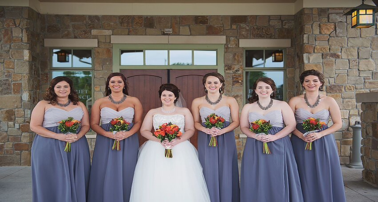 Brides Maids StoneWater Wedding