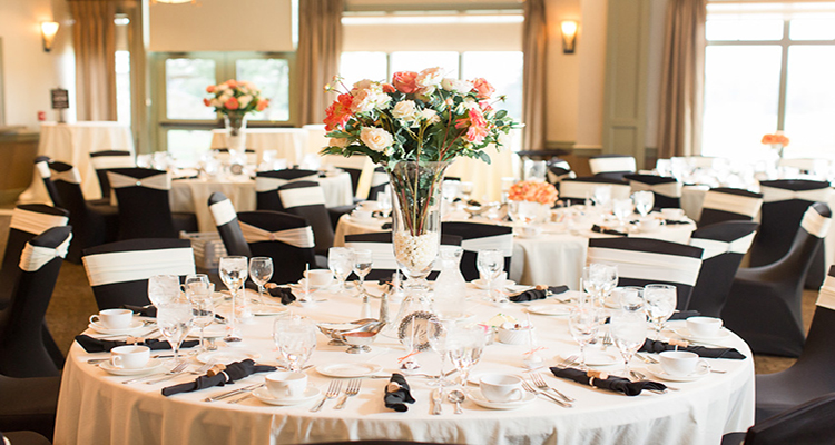 Grand Rapids Wedding Table Setting